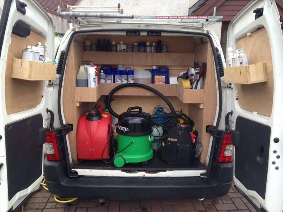 Mobile Car Wash Van