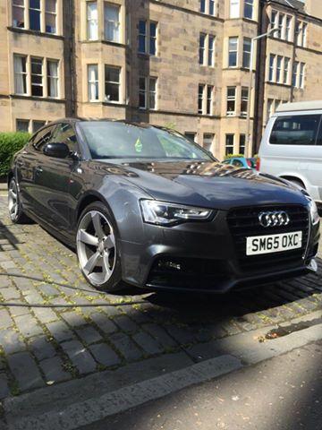 Fresh Car Valeting Mobile Car Valeting In Edinburgh - Audi car valet