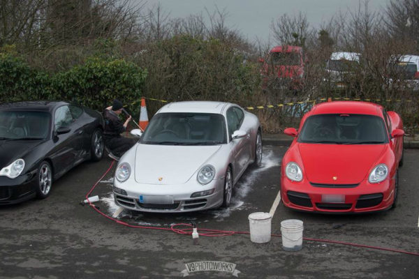 Two Porsches
